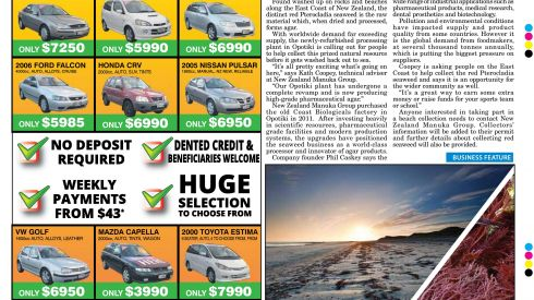 Wairoa Star: 9 June 2016 - Cash on the Beach