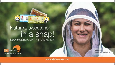 Kiwi Manuka Honey Snaps Flyer